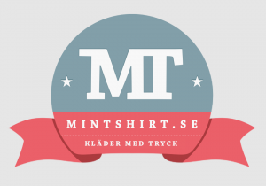 Mintshirt grafisk identitet